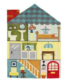 Another great find on #zulily! Dollhouse Rug #zulilyfinds