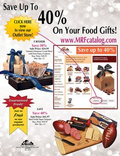 Save up to 40% on over 30 delicious gifts at the Maple Ridge Farms Outlet Store