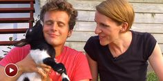 Visit Jonathan Groff's goat farm on SIDE BY SIDE BY SUSAN BLACKWELL