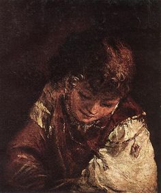 Aert de Gelder (1645–1727) Portret van een jongen ca. 1700