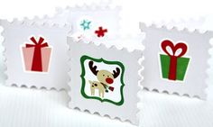 Cards using the Holly Jolly Christmas Collection from Echo Park Paper.