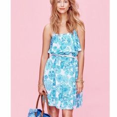 Lilly P Sea Urchin For You Flounce Dress