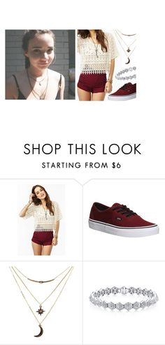 """""""hey , I'm Lauren Grier"""" by beautiful-disaster-anons ❤ liked on Polyvore featuring Vans and Charlotte Russe"""
