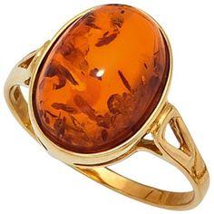 SIGO Ladies Ring 375 Gold Yellow Gold 1 Amber Orange Amber Ring Gold Ring Order now at: mode. Source by damenmodeladendirekt Gold Rings Jewelry, Amber Ring, Girls Best Friend, 375 Gold, Tea Cups, Ebay, Orange Yellow, Bling Bling, Yellow