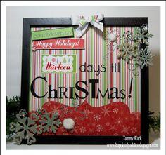 Imaginisce Cottage Christmas Countdown Calendar