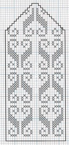Knitted Mittens Pattern, Knit Mittens, Knitting Socks, Hand Knitting, Filet Crochet Charts, Knitting Charts, Knitting Stitches, Knitting Patterns, Crochet Flower Patterns