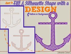 How to Fill a Silhouette Design or Text With a Cuttable Background (Free Studio Cut File) ~ Silhouette School