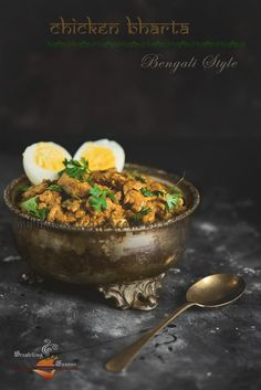 Chicken Bharta Kolkata Style