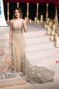 Emma Watson in Elie Saab, Beauty and the Beast Shanghai Premiere
