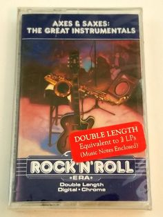 The Rock'N'Roll Era Axes & Saxes Great Instrumentals Music Cassette Time Life Rockn Roll, Music Notes, Lps, Music Instruments, Digital, Musical Instruments, Sheet Music, Song Lyrics, Music Sheets
