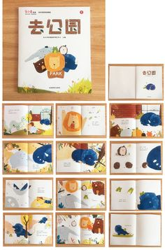 New children book layout design 46 ideas Illustration Inspiration, Children's Book Illustration, Illustration Animals, Up Book, Book Art, Buch Design, Design Design, Design Ideas, Kids Story Books