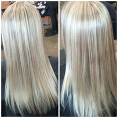 All over highlights #hairbyamie