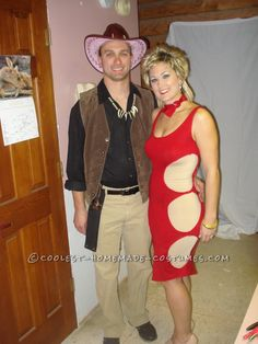 Crocodile Dundee and Sue Couple Costume… Coolest Halloween Costume Contest
