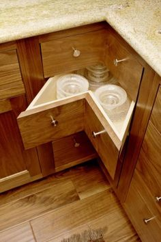 Walnut Kitchen   Cultivate-I love the efficient use of space-Making every inch count.