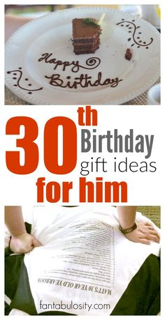 30th birthday gifts for men 30 birthday birthday gifts and 30th 30th birthday gift ideas for him negle Image collections