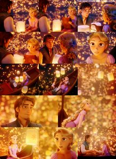 "Day 15:  The lantern scene...not just when ""I See the Light"" comes on; the part where Eugene gives her advice that she'll get to find a new dream is pretty awesome as well, and since it happens to butt right up against the ""I See the Light"" moment...booyah!  :D"