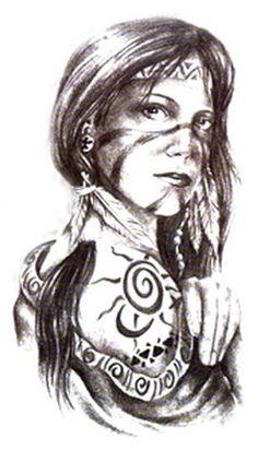 tattoos american indian tattoos american art tattoos for women woman . Cherokee Indian Tattoos, Indian Women Tattoo, Indian Tattoo Design, Native American Tattoos, Tattoos For Women, Native Tattoos, Warrior Tattoos, Cross Tattoos, Taino Tattoos