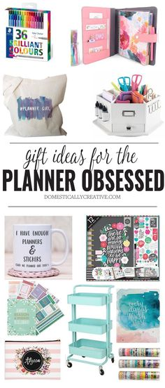 Gift Ideas for the Planner Obsessed filofax Filofax, Diy Gifts For Kids, Gifts For Teens, Planner Stickers, Bujo, Trending Christmas Gifts, Christmas Holiday, Happy Planner, Homemade Gifts