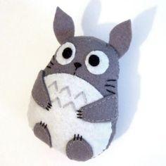 Totoro Felt Plushie