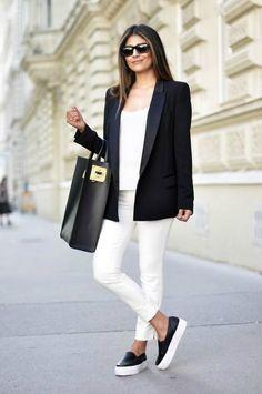 Самые стильные способы носить обувь на плоской платформе