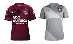 Camisa vinho e camisa cinza do Corinthians, sucesso e fracasso de vendas