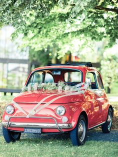 Wedding Car - Fiat 500 - Think Photography - weddings.thinkfoto.dk