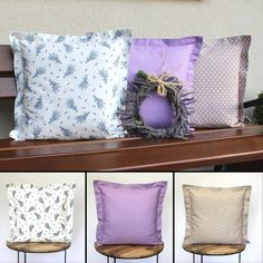 Pillow covers designed and made by LALLY CHIC