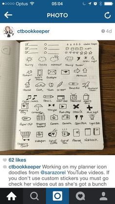 These are some awesome doodles for your bullet journal/ bujo! by ava Planner Bullet Journal, Organization Bullet Journal, Planner Organization, Bullet Journals, Organizing, Planner 2018, To Do Planner, Life Planner, Planner Diy
