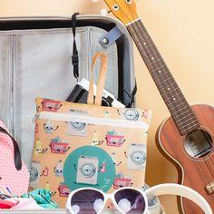Saquinho organizador - Limpo e Suji Diaper Bag, Suitcase, Travel, Organizers, Sacks, Diaper Bags, Mothers Bag, Briefcase