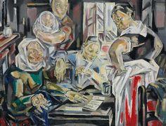 """pintoras: """"María Blanchard (Spanish, 1881 – 1932): La tireuse de cartes (via Christie's) """""""