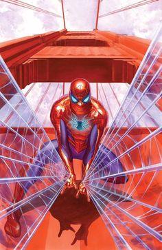 Amazing Spider-Man #1 by Alex Ross *