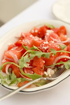 Watermelon Caprese Salad from Parma 8200 in Bloomington