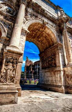 Arco de Costantino, Roma, Itália