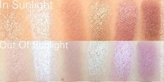 Maybe Its Megan Leigh: Sleek Storm Palette Top Row Swatch