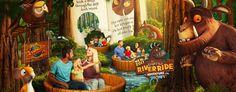 Gruffalo Ride - Chessington world of adventure - theme park for toddlers Adventure Resort, Family Adventure, Adventure Games, Gruffalo Characters, Peppa Pig World, Toddler Proofing, Summer House Garden, Kids News, The Gruffalo