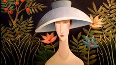 DANNY McBRIDE was born in 1951 in Toronto, Canada and has spent most of his working years in the arts as a musician, composer, singer and artist. Danny Mcbride, Art Beat, Amedeo Modigliani, Naive Art, Russian Art, Fantastic Art, Female Art, Contemporary Art, Art Drawings