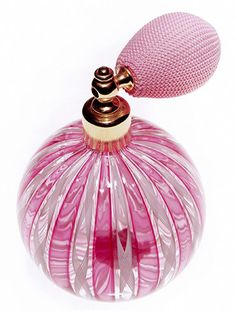 With overall fragrance sales down 10 percent, Noir, a midpriced perfume, has been a consistent top seller for Victoria's Secret Beauty. Perfume Atomizer, Antique Perfume Bottles, Vintage Bottles, Perfume Fragrance, Rose Fushia, Pink Perfume, Beautiful Perfume, Pink Love, Vases