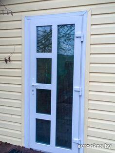 Minimalis House Design, Upvc Windows, Security Door, Entry Doors, Door Design, Beach House, Patio, Beauty, Home Decor