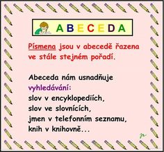 ABECEDA :: Béčko-Tc Štístkové Word Search, Bullet Journal, Words, Horse