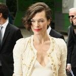 Get the Look: Milla Jovovichs Asymmetrical Bob