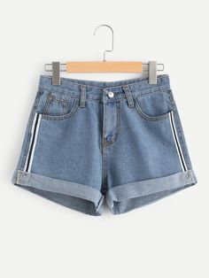 Shop Roll Up Hem Denim Shorts online. SheIn offers Roll Up Hem Denim Shorts & mo. - - Shop Roll Up Hem Denim Shorts online. SheIn offers Roll Up Hem Denim Shorts & mo… – Hair&Beauty – Source by denimcomp Short Outfits, Trendy Outfits, Girl Outfits, Summer Outfits, Fashion Outfits, Denim Fashion, Summer Shorts, Summer Dresses, Khaki Cargo Pants