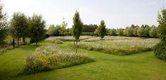 Garden by www.be - Garden by www. Home Garden Plants, Garden Pool, Garden Landscaping, Garden Landscape Design, Landscape Architecture, Farm Village, Meadow Garden, Professional Landscaping, English Country Gardens