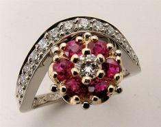 Repurposed Customized #Bridal #Engagement #Ring! http://etsy.me/1Qg3Rmr via @Etsy