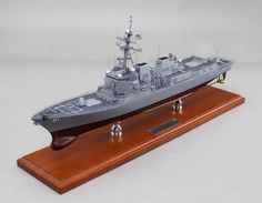 """Recently Completed 26"""" Arleigh Burke-class destroyer model"""