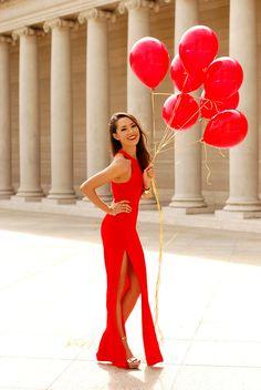 Jessica Ricks! Balloons!