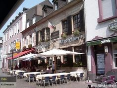 Saarlouis Fussgaengerzone. One of the cooles places I've lived