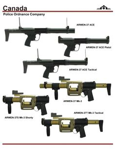Canada Police Ord Co. Riot Guns. Speed up and simplify the pistol loading process  with the RAE Industries Magazine Loader. http://www.amazon.com/shops/raeind