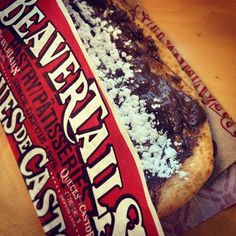 A chocolate hazelnut BeaverTails pastry is exactly will never lead you astray. via @alexiadg on IG