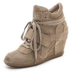 Ash Bowie Wedge Sneakers on shopstyle.com