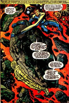 216 best KIRBY images on Pinterest   Comic book  Comic books and Comics Fantastic Four page 8